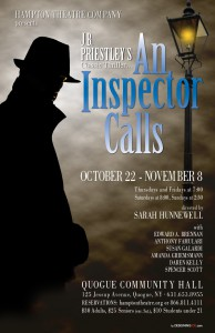 hampton theatre company's production of an inspector calls