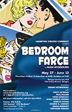 hampton theatre company's production of bedroom farce