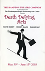 hampton theatre company's production of death defying acts