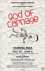 hampton theatre company's production of god of carnage