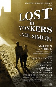 hampton theatre company's production of lost in yonkers