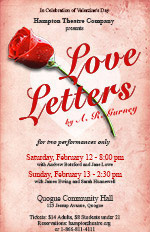 hampton theatre company's production of love letters