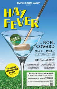 hampton theatre company's production of hay fever