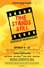 hampton theatre company's production of time stands still