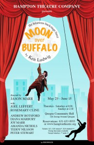 hampton theatre company's production of moon over buffalo