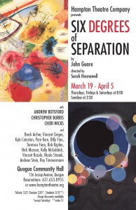 hampton theatre company's production of six degrees of separation