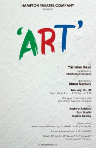 hampton theatre company's production of art