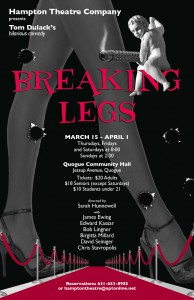 hampton theatre company's production of breaking legs