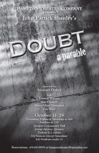 hampton theatre company's production of doubt