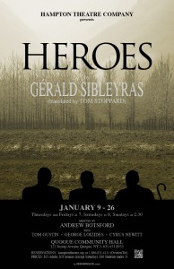 hampton theatre company's production of heroes