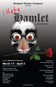 hampton theatre company's production of i hate hamlet