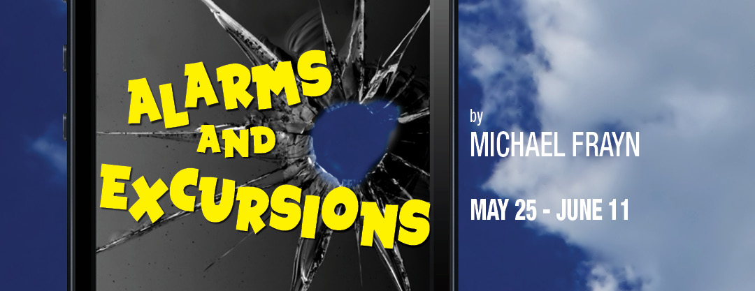 hampton theatre company's production of alarms and excursions
