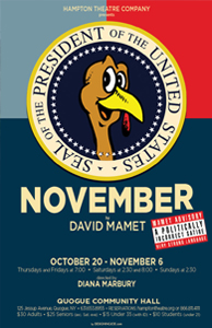 hampton theatre company's production of November